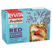Ryvita punainen kvinoa & seesaminsiemen proteiininäkkileipä 200 g