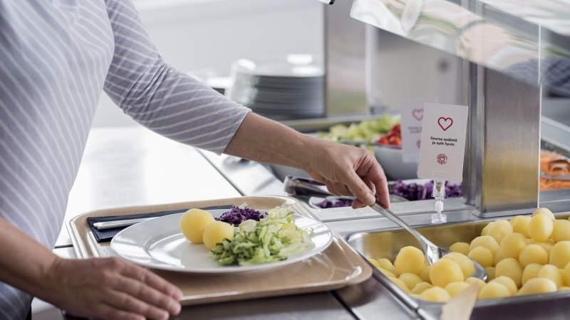 Sydänmerkki-aterioita Rauman kouluihin