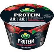 Arla Protein Proteiinirahka mansikka-sitruunamelissa 200 g, laktoositon