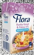 Flora Ruoka Kevyt & Paksu 4% vähälaktoosinen