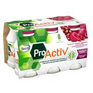 Becel ProActiv jogurttijuoma Granaattiomena-vadelma 6-pakkaus