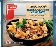 Findus Dagens Middag Ranskalainen kanapata 600g
