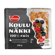 VAASAN Koulunäkki 100% Ruis 240 g