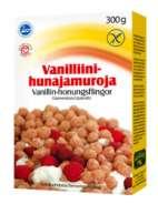 Vanilliini-hunajamurot