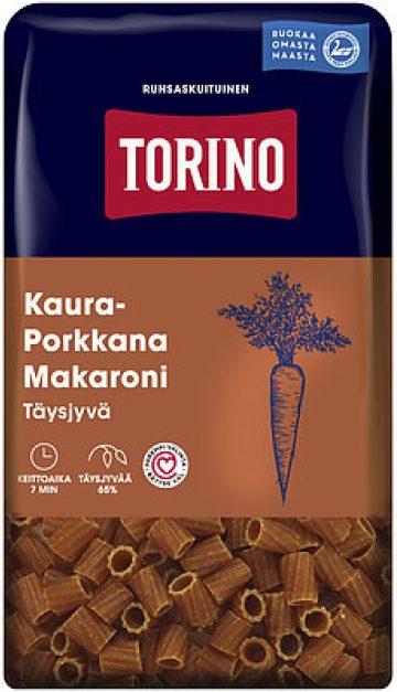 Torino Kaura-Porkkana Täysjyvämakaroni