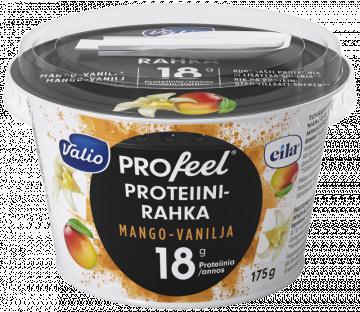 Valio Profeel proteiinirahka, mango-vanilja keinomakeutettu