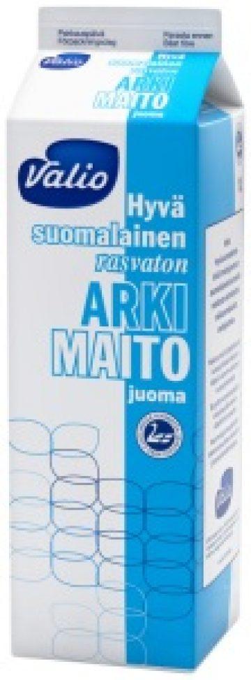 Valio Hyvä suomalainen Arki® rasvaton maitojuoma 1,0 l