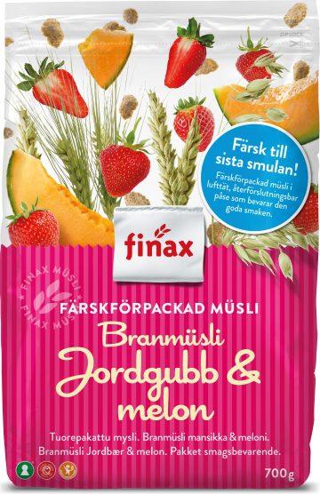 Finax Branmüsli Mansikka & Meloni 650 g