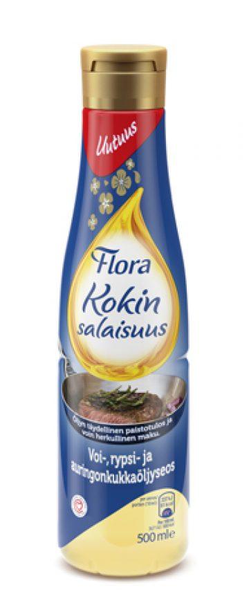 Flora Kokin salaisuus 500 ml öljyseos 99%