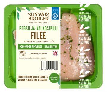 Jyväbroiler 390g Broilerin Filee Persilja-valkosipuli