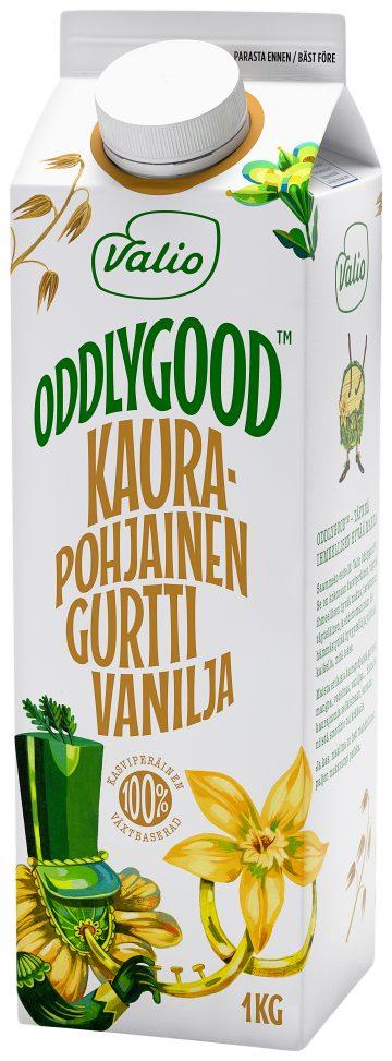 Valio Oddlygood® kaurapohjainen gurtti 1 kg vanilja