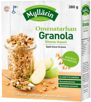 Myllärin 380g Omenatarhan granola