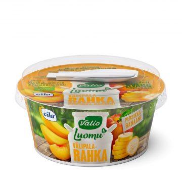 Valio Luomu™ välipalarahka 150 g persikka-banaani laktoositon