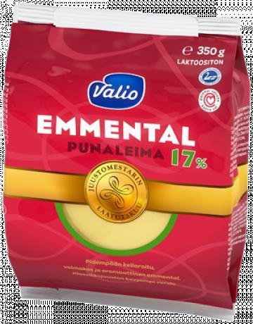 Valio Emmental punaleima 17 % e350 g