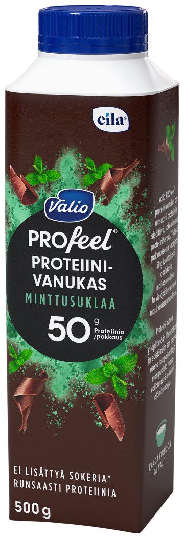 Valio PROfeel® proteiinivanukas 500 g minttusuklaa laktoositon