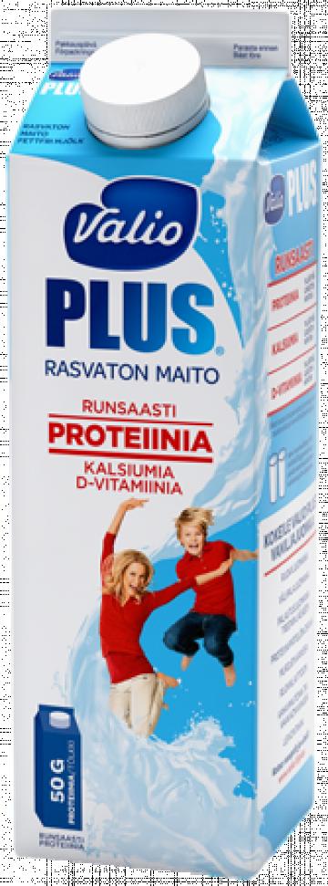 Valio Plus™ rasvaton maito 1 l