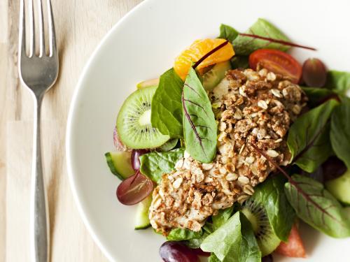 Hedelmainen Viiden Varin Salaatti