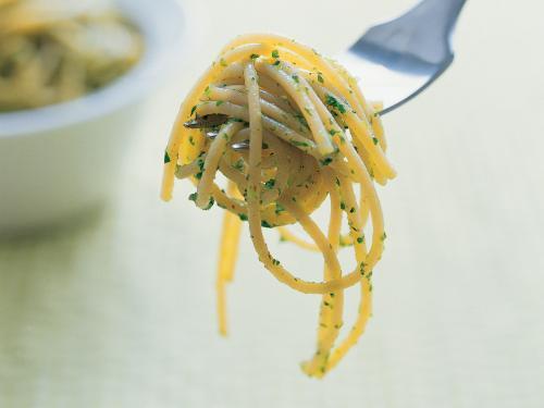 Nopea Yrttispagetti