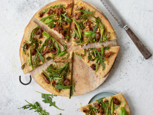 Broccoliinipizza