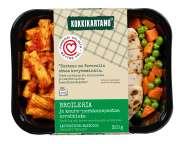 Broileria ja kaura-porkkanapastaa arrabbiata 320g