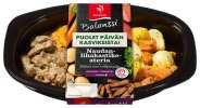 Kotoisaa naudanlihakastiketta, uunijuureksia ja bataattipyreetä 300 g