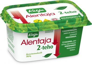 Keiju Alentaja 2-teho kasvirasvalevite 70 % 400 g