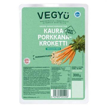 Vegyu 300g Kaura-porkkanakroketti