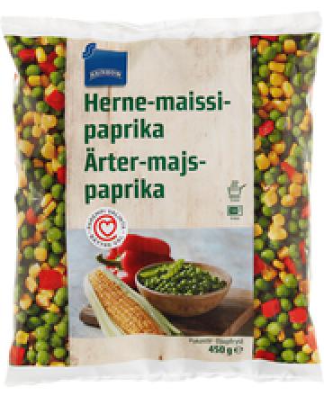 Rainbow Herne-Maissi-Paprika (pakaste)