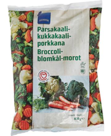 Rainbow Parsakaali-Kukkakaali-Porkkana (pakaste)
