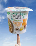 Nutrilett Smart Living Oat Meal Banana,Cinnamon, Oat, Barley, Chia and Fiberhusk