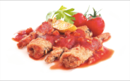 Fried Baltic Herring in Tomato Sauce