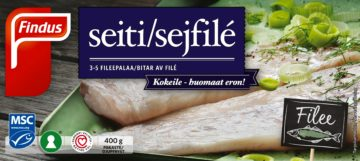 Findus Seitifilee MSC 400 g