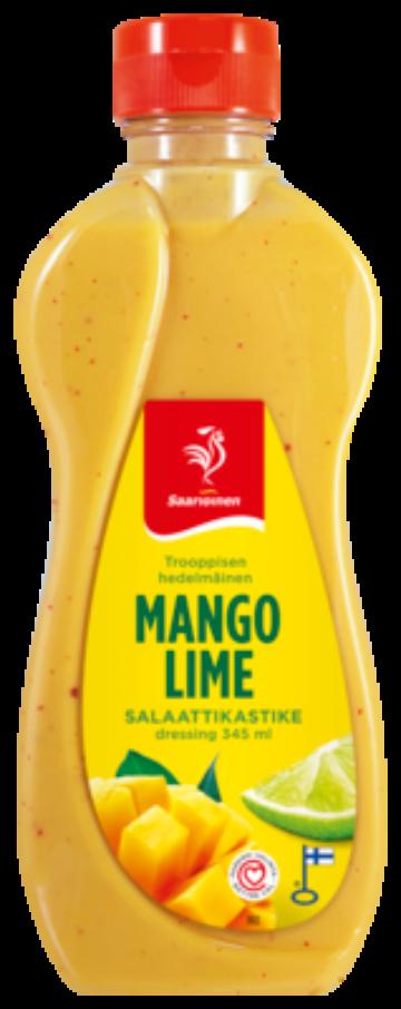 Saarioinen Mango-limesalaattikastike 345 ml